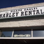 Store Sign - Harley Rentals